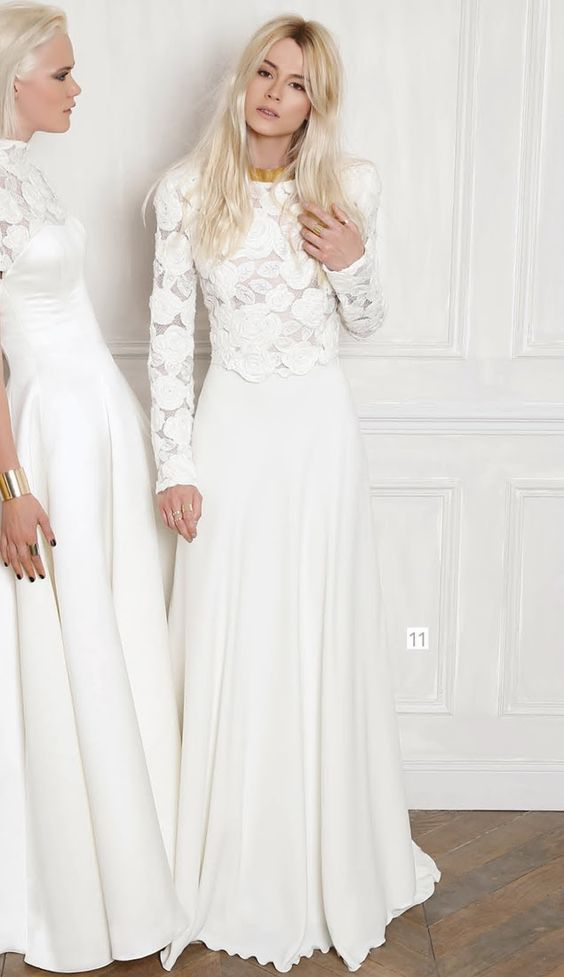 Trendy Wedding, blog idées et inspirations mariage ♥ French Wedding Blog: {la robe du jour} William Carnimolla pour TATI