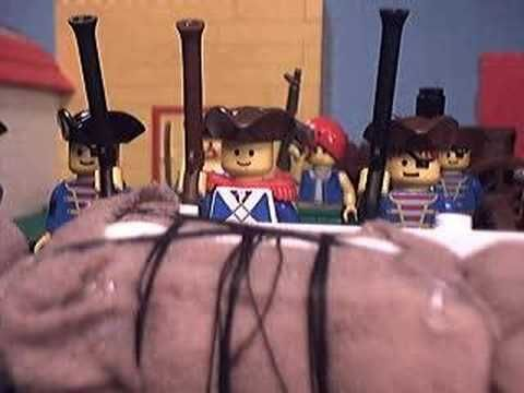 Lego video on The Battle of New Orleans. There are also links to other Lego videos of important wars/battles