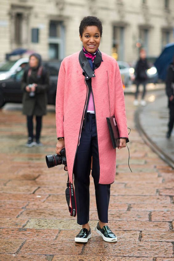 See the best looks from Milan Fashion Week. Click for more.