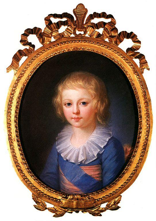 Louis-Joseph de France, duc de Bourgogne, 1er Dauphin, par Wertmüller