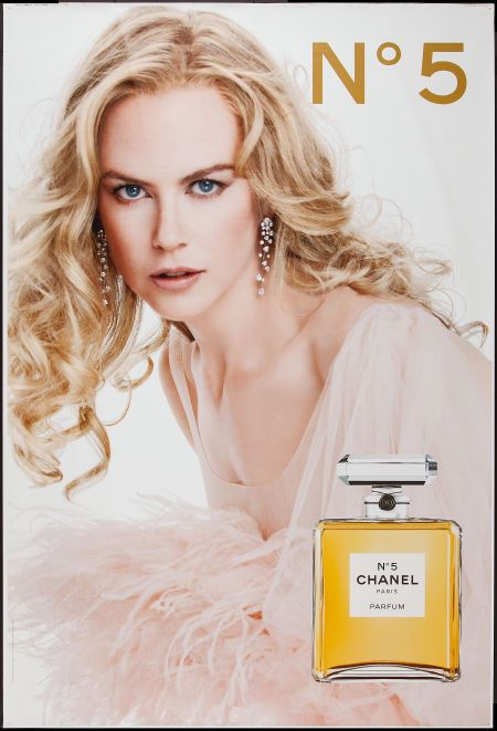 Nicole Kidman Chanel No. 5 Poster (Chanel, 2004).