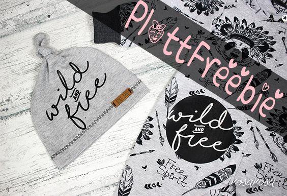 Wild&Free Plotter Freebie   frlrosa.de