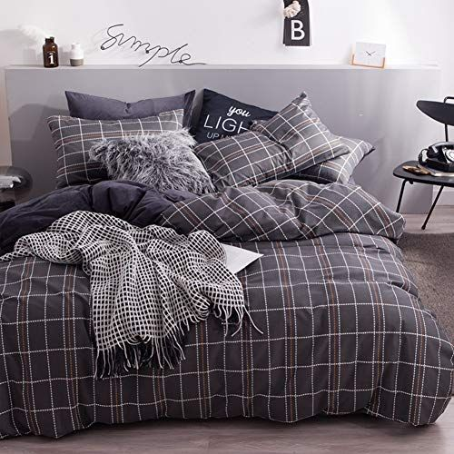 Flannel Duvet Cover Set Quilt Cover With Cotton Inside Full Size Bedding Set Soft And Warm 4 Piece Set Full Size Bed Sets Duvet Cover Sets Flannel Duvet Cover