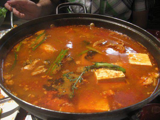 Tofu Jigae | Recipes | Pinterest | Tofu