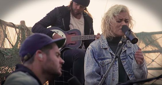 Hillsong United Performs 'Oceans' On The Sea Of Galilee - Christian Music Videos