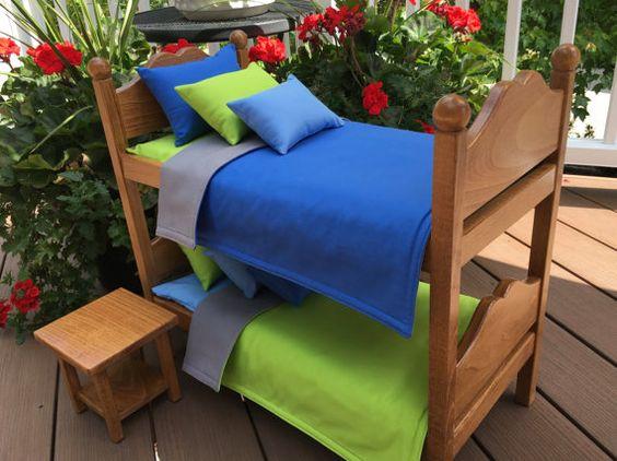 American Girl o Boy Doll: muebles camas de por BedsandThreads