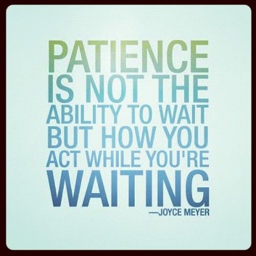 Image result for Waiting to act until you know you'll succeed.