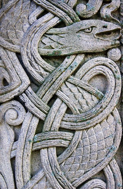 Celtic Knot Serpent