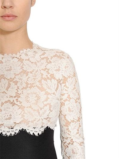 TWO TONE LACE