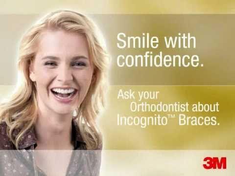 Incognito Hidden Braces From 3m Hidden Braces Orthodontics Braces