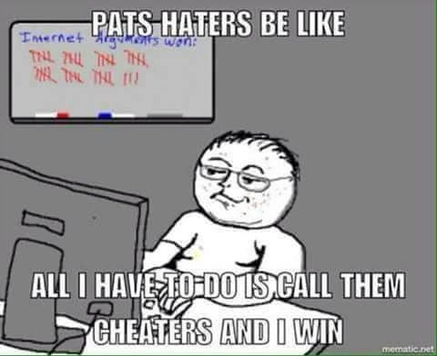 Pats haters be like