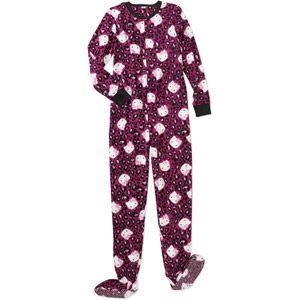 Hello Kitty footed pajamas | Footed pajamas | Pinterest | Women's ...