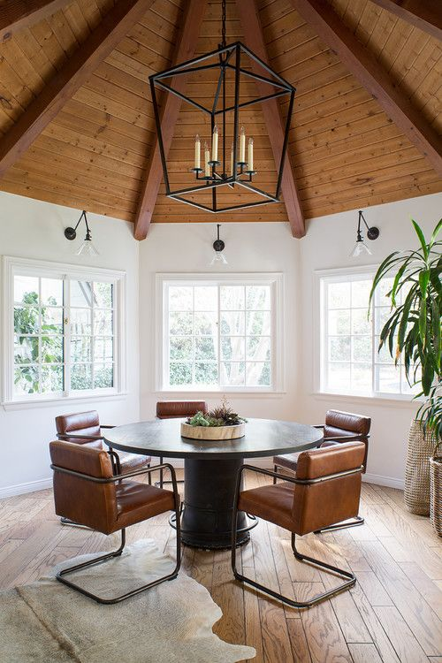 Modern Neutral Decor In California Home Town Country Living Dining Room Design Home Modern Rustic Decor
