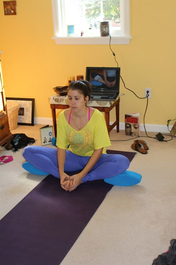 Poses are more comfortable and stable with the Three Minute Egg.  Visit www.blackdogasana.com for our full review!