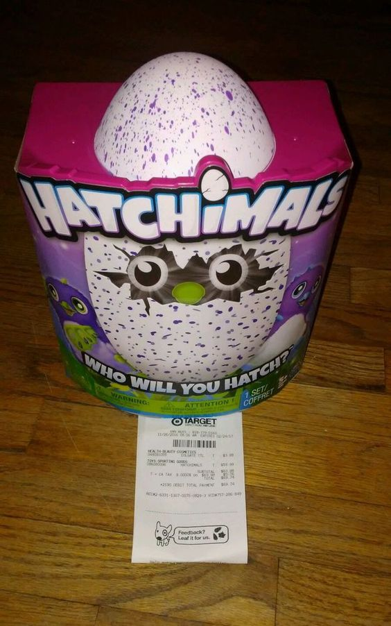 Hatchimals Spinmaster Purple/Blue Egg - Draggles - In hand Sold Out Everywhere! #