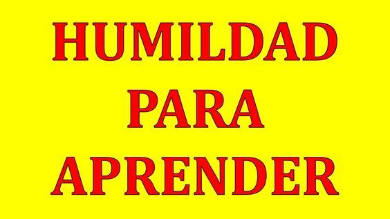 Humildad Para Aprender | Miguel Angel Cornejo