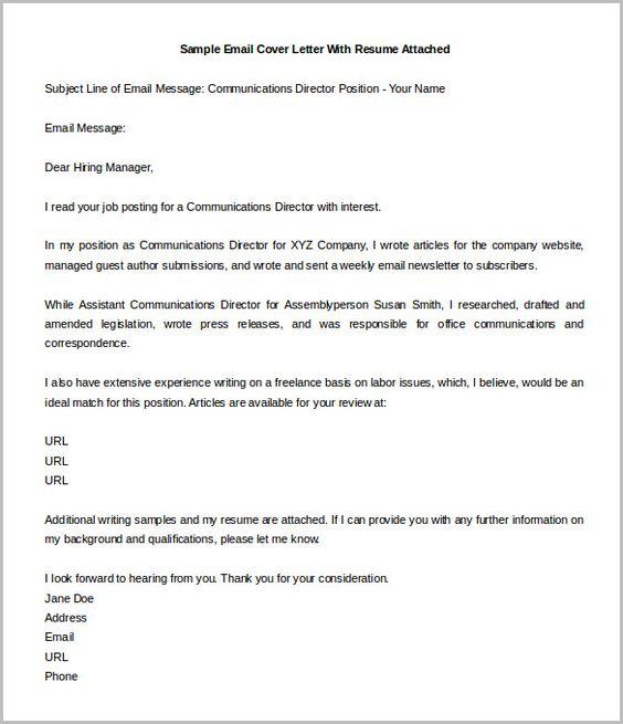 sample cover letter for job opening how write engaging sending