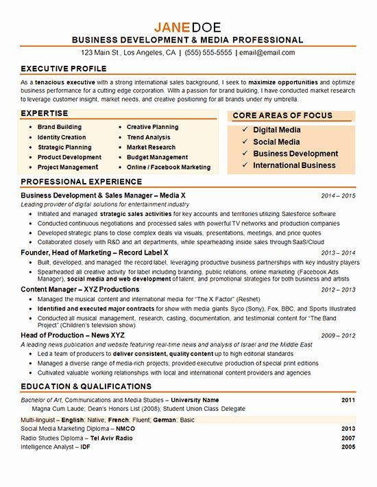 Digital Marketing Resume Examples Inspirational Digital Marketing Resume Example In 2020 Marketing Resume Resume Examples Sales Resume Examples