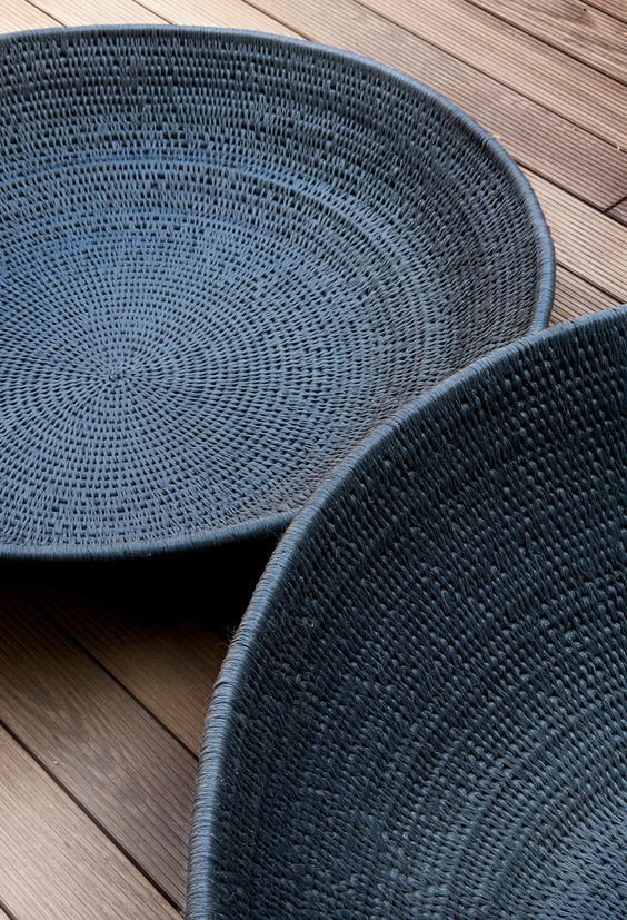 Woven Disc Basket : Bali indonesia and on