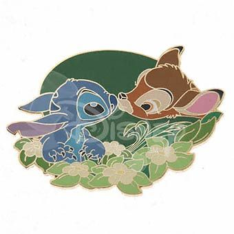 DISNEY PINS STITCH and BAMBI LE 1,000  I NEED this pin!!