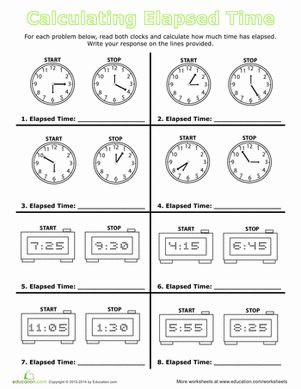 calculate elapsed time free printables the o 39 jays and elapsed time. Black Bedroom Furniture Sets. Home Design Ideas