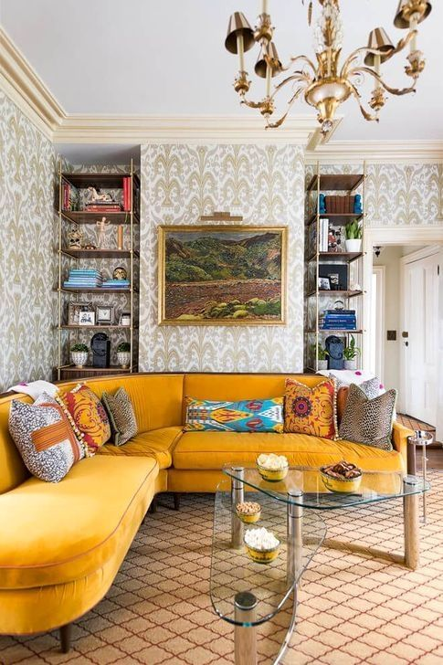 Pin By Najoua Lahbil On For The Home Eclectic Living Room Eclectic Living Room Design Living Room Decor Eclectic