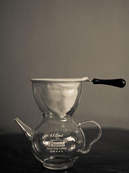 Tiamo water drip coffee pot