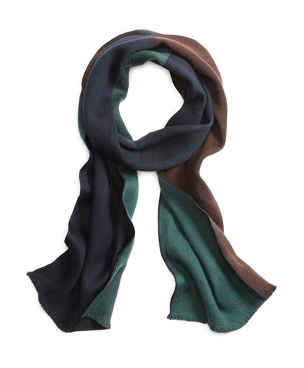 Brooks Brothers Men's Color-Block Scarf