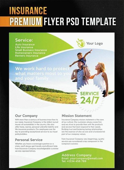 Life Insurance Flyer Templates Flyer Flyer Template Business Flyer Templates