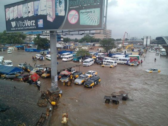 Storm in Accra, Ghana's Capital, has Flooded the Streets and Caused Death