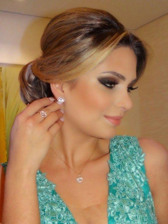 Penteado de festa e maquiagem - Madrinhas de casamento
