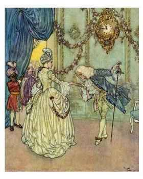 Cinderella & her Prince ~ by Edmund Dulac (French illustrator 1882-1953)