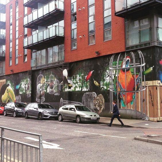Glasgow street art // 2 #glasgow #scotland #street #art #streetart #graffiti #city