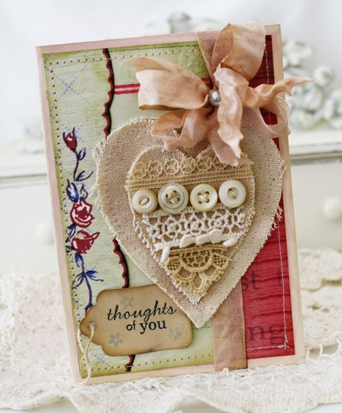 ,heart thoughts of you card