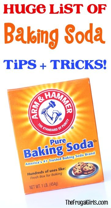 Baking soda uses and tricks huge list of creative tips including diy cleaning ideas beauty - Things never clean baking soda ...