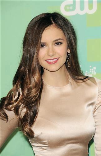 Nina Dobrev is gorgeous. Love her in the Vampire Diaries.