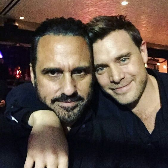 Maurice Benard and Billy Miller