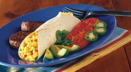 Southwest Breakfast Snacker