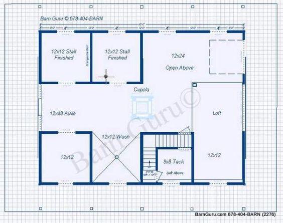 4 stall horse barn plan barn ideas pinterest running for 3 stall horse barn plans