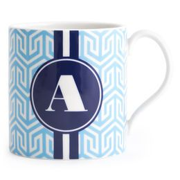 Mugs, Teapots & Tea Sets - Carnaby Monogrammed Mug