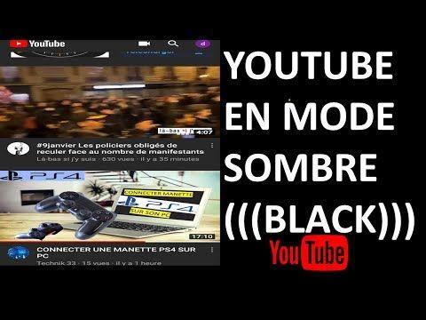 Technik 33 Youtube En 2020 Comment Reparer Theme Android Mode Sombre