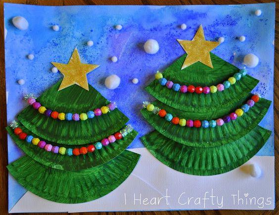 Christmas Tree Art Árboles de navidad, Para niños y Revestimientos