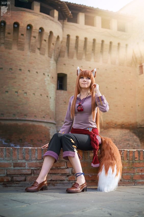 Spice And Wolf Wolf And Amber Cute Cosplay Amazing Cosplay Spice And Wolf
