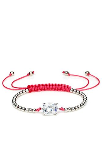 10 So-Chic Friendship Bracelets Your BFF Might Just Steal #refinery29  http://www.refinery29.com/friendship-bracelet-trend#slide3  Juicy Couture Beaded Friendship Bracelet, $32, available at Juicy Couture.
