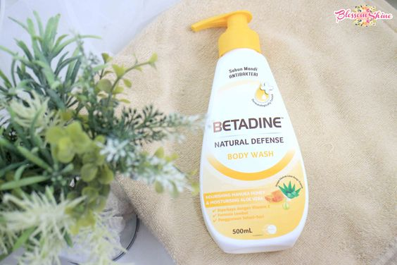 Be healthy with Betadine Natural Defense