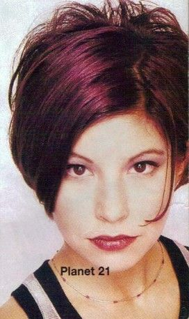 like the cut and color...maybe Miriam should try this color :)