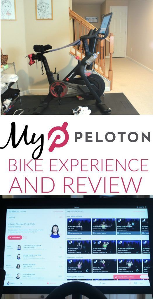My Peloton Bike Experience And Review Peloton Bike Bike Experience Peloton