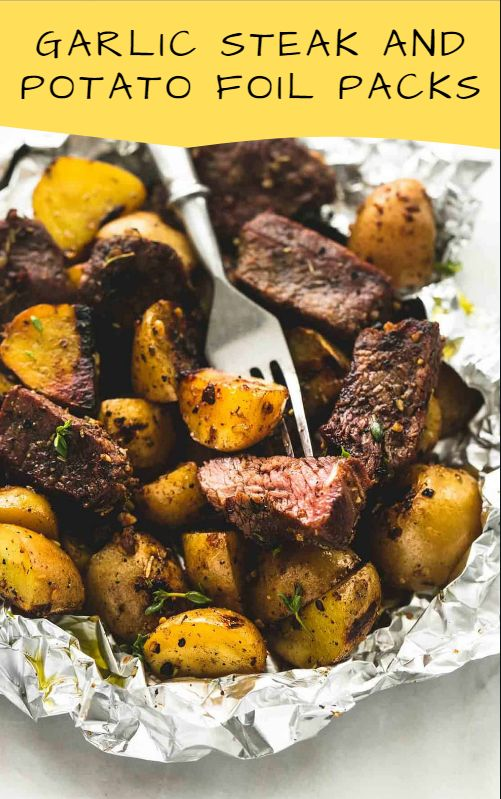 Garlic Steak Potato