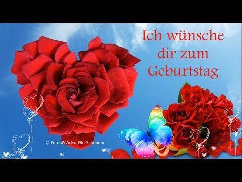 Herzlichen Gluckwunsch Zum Geburtstag Liebe Grusse Von Mir
