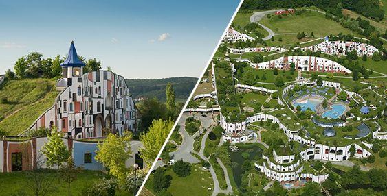 Unusual Thermal Park | Friedensreich Hundertwasser